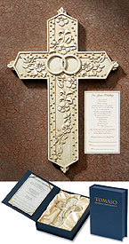 Tomosso resin Wedding cross