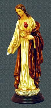 Limited Edition Eucharistic Lord Statue by Santini