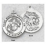 Military Medals - St. Michael Marines Medal