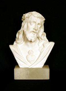 Sacred Heart of Jesus Bust Statue