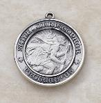 Unique Sterling Silver St. Christopher Medal by Creed - patron saint